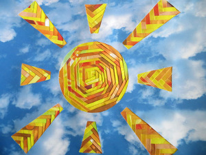 Аппликация Солнце для всех (Антонова Светлана) заявка № 1_