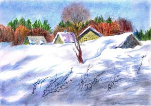 Ещё в полях белеет снег_____