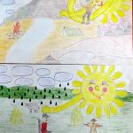 Рисунок Лучи добра (Денисов Михаил) заявка № 10-1_