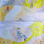 Рисунок Лучи добра (Денисов Михаил) заявка № 10-2_