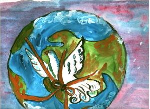 Суворкова Голубь мира