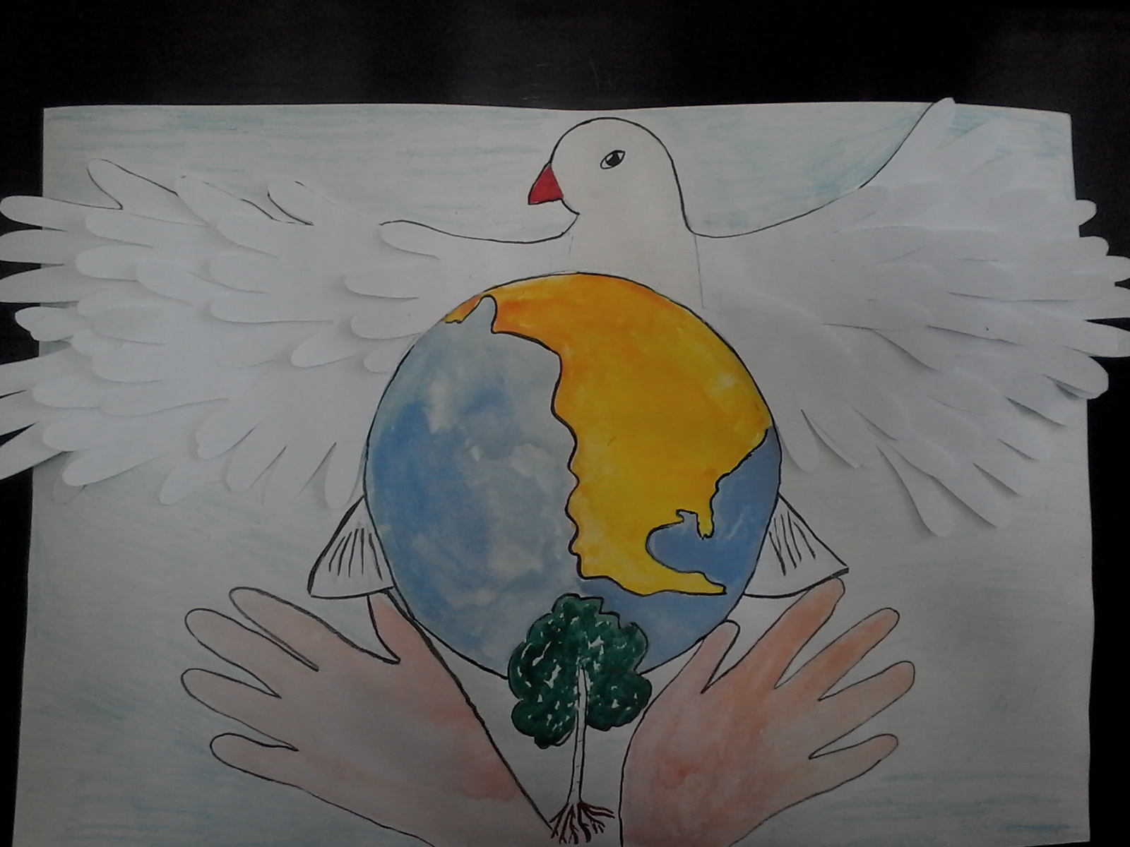Птица мира.
